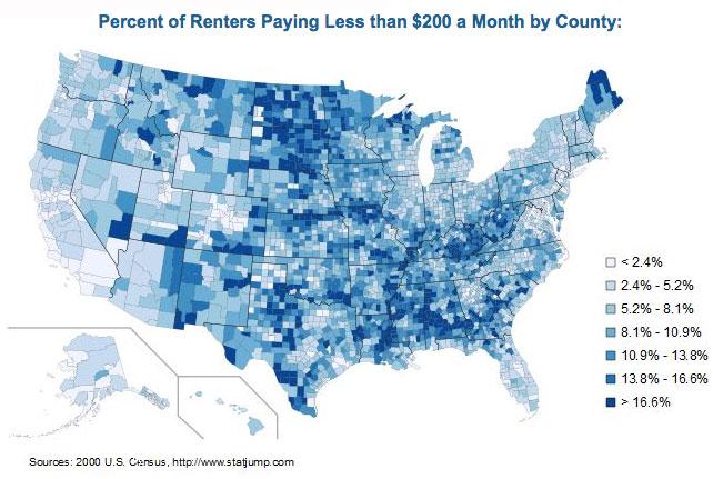 Maps Ape Con Myth - Us rent map