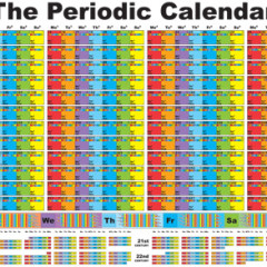 Introducing the Periodic Calendar